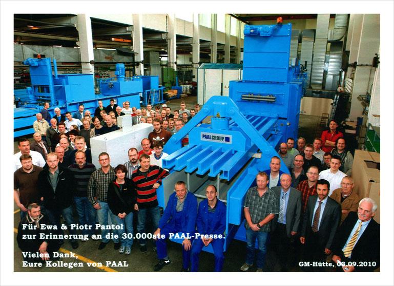 30-tysięczna prasa wyprodukowana przez PAAL - dostarczona do Klienta w Polsce!